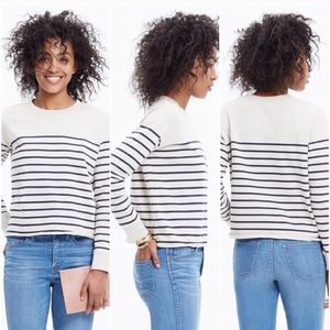 Madewell cut off sweatshirt size small